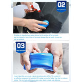 1/2/4Pcs 100g Car Wash Magic Clean Clay Bar Truck Auto Detailing Cleaning Tools