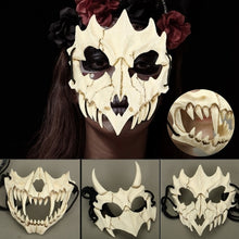 Load image into Gallery viewer, 2019NEW Lifelike Resin Halloween Mask Clothing Collection Wall Hanging Mask Horror Mask Cosplay Mask