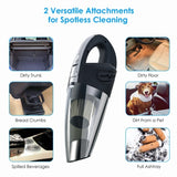 Handheld Cordless Vacuum Cleaner Portable Rechargeable Wet Dry Dual-use Vacuum Cleaner for Home and Car Cleaning