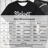 2019 New Fashion Women Men  Cool Print Slipknot American New Alternative Groove Metal Casual T-Shirts