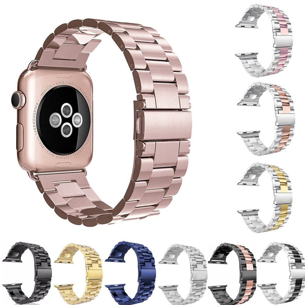 Apple Watch Band Bling Diamond Watch Bands Luxury Replacement Bracelet Stainless Steel Strap Watchband Chain Strap Metal Watch Band for Iwatch Series 4 3 2 38mm 40mm 42mm 44mm