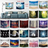 Beautiful scenery tapestry wall artist residence decoration (87cm * 75cm)