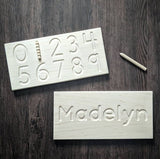 Small Tracing Board (Name / Numbers)
