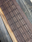 Live Edge Cribbage Board - STANDARD Length