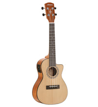 Load image into Gallery viewer, Alvarez RU26CCE Concert Ukulele with cutaway and electrics
