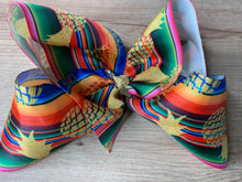 Load image into Gallery viewer, Serape pineapple bow