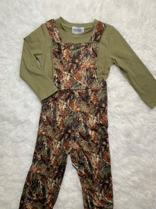 Boy Camouflage overall
