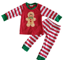 Load image into Gallery viewer, Boy Ginger bread pajamas