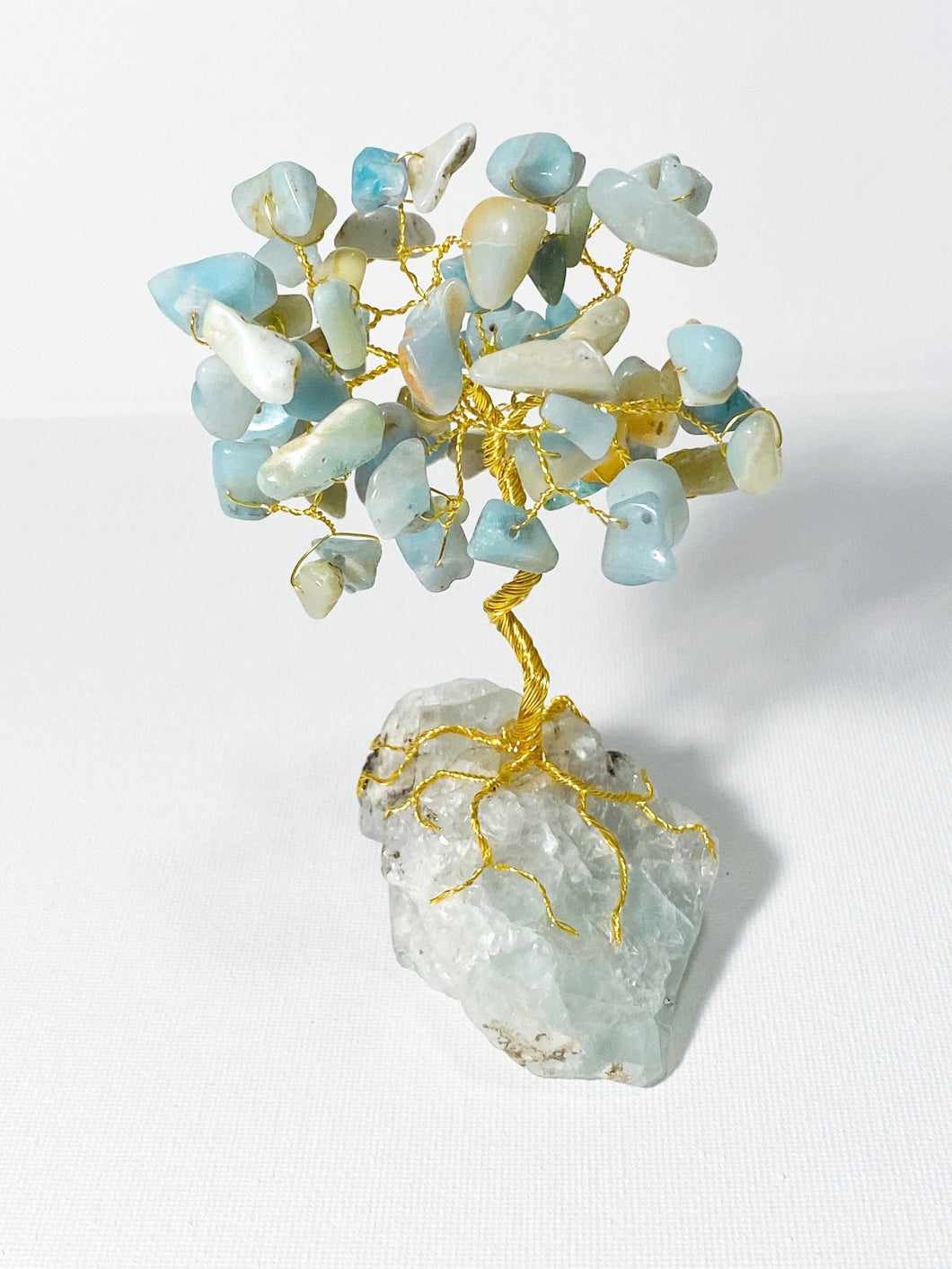 Amazonite on Fluorite FREEDOM