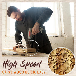 Wood Carving Drill Bit Set