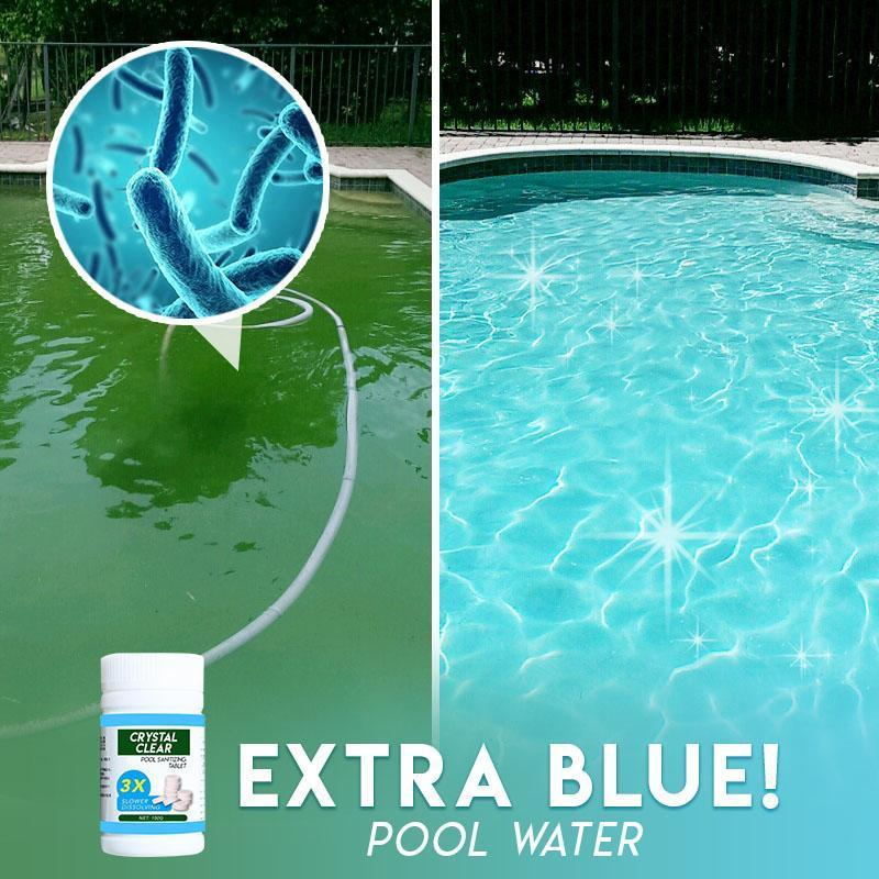 Crystal Clear Pool Cleaning Tablet