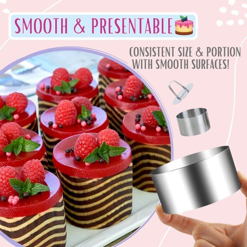 Stainless Steel 3d Round Cake Molds