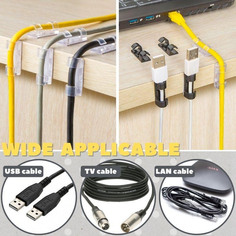 Clip Cable Organiser