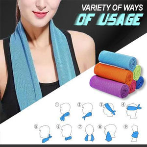 Ultra Cooling Sports Towel