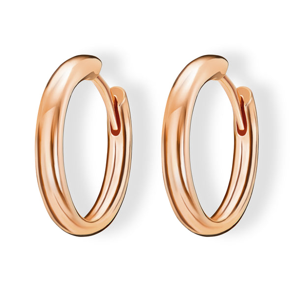 Hoops (18ct Rose Gold)