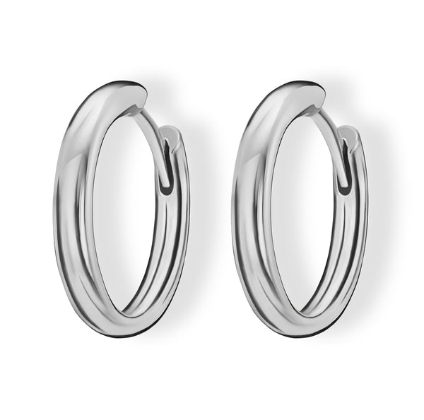 Hoops (18ct White Gold)