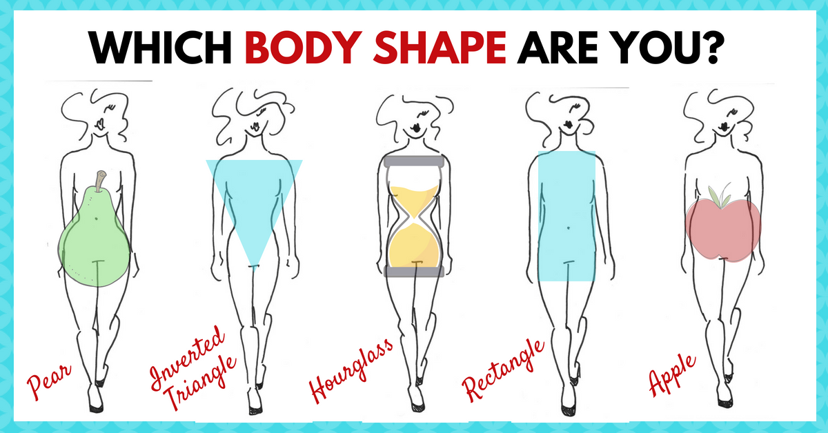 find out the best body shapes for your outfit women's dresses