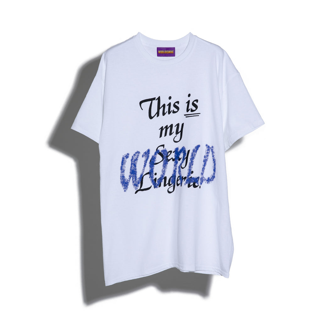 THIS IS MY WORLD TEE #1