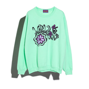 FLORAL CREW SWEAT #1