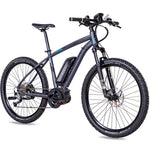 CHRISSON 27,5 Zoll E-Bike Mountainbike E-MOUNTER 1.0 mit BOSCH PLine Gen3 & Powerpack 400