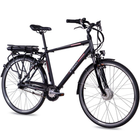 28 Zoll CHRISSON E-Bike City Herren E-GENT mit 7 Gang Shimano Nexus Ananda Motor