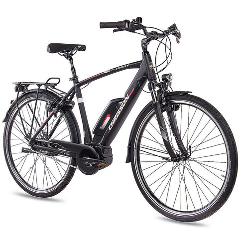 28 Zoll E-Bike City Herren CHRISSON E-ROUNDER mit 7 Gang Shimano Nexus BOSCH 400Wh