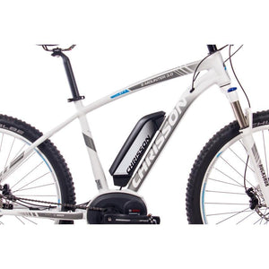 CHRISSON 27,5 Zoll E-Mountainbike E-MOUNTER 3.0 10 Gang BOSCH Powerpack500 schwarz matt 52 cm