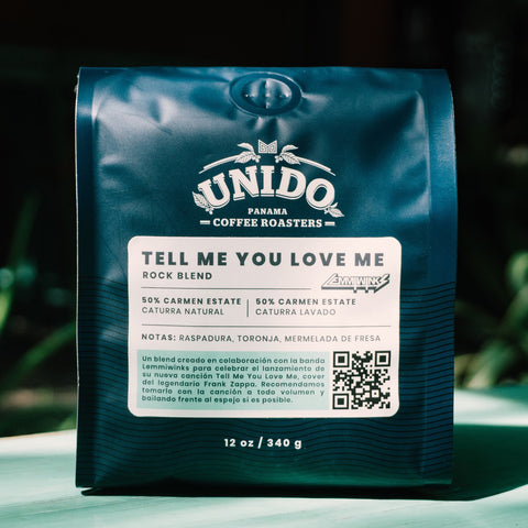 Café Unido x Lemmiwinks: TELL ME YOU LOVE ME - Rock Blend