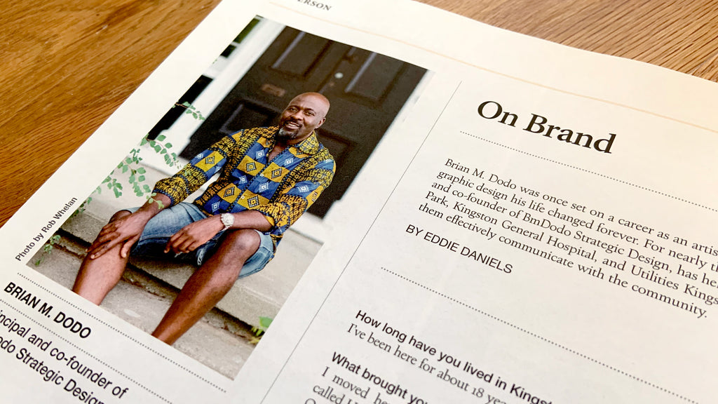 Brian Dodo featured in Kingston Life Magazine