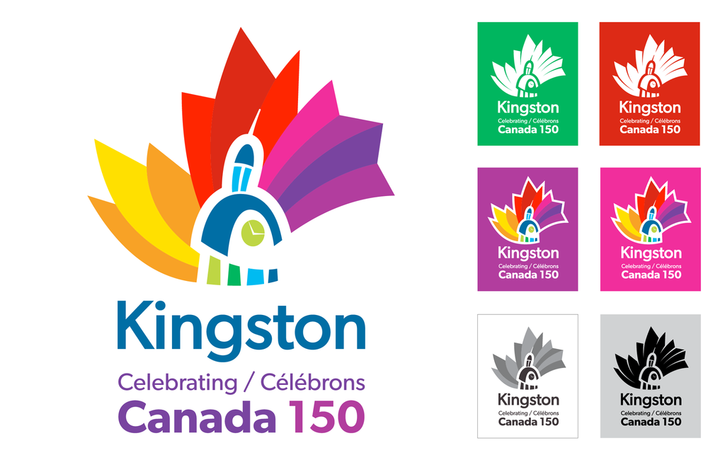 City of Kingston unveils visual identity to celebrate Canada's Sesquicentennial