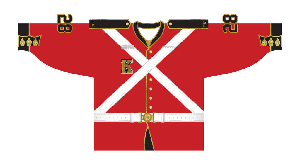 Kingston Frontenacs commemorative jersey