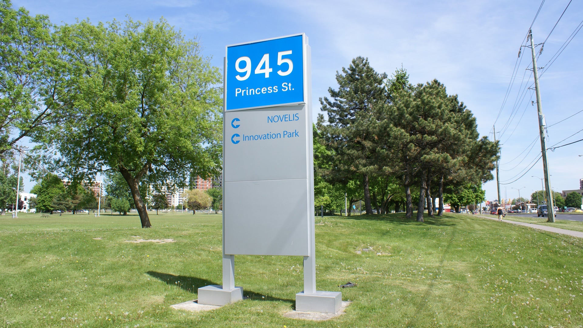 innovation park sign