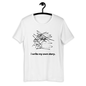I write my own story t-shirt