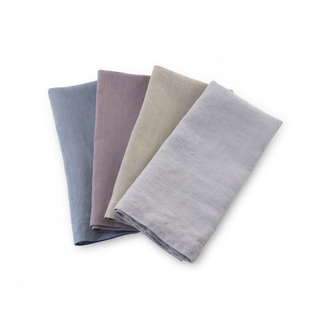 LINEN Blue Napkin (set of 4)