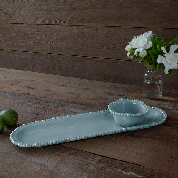 VIDA Alegria Medium Baguette Platter Blue  - Medium