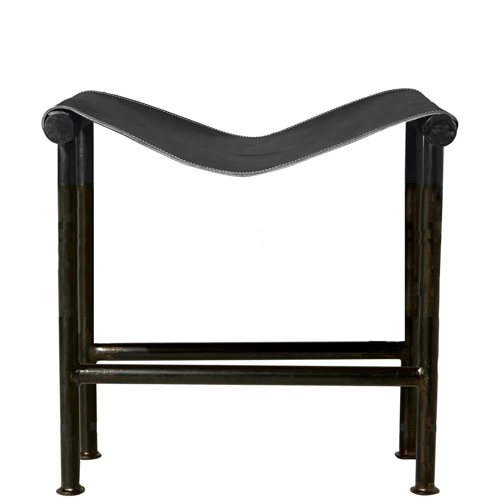 Saddle Bench/Counter Stool, Black
