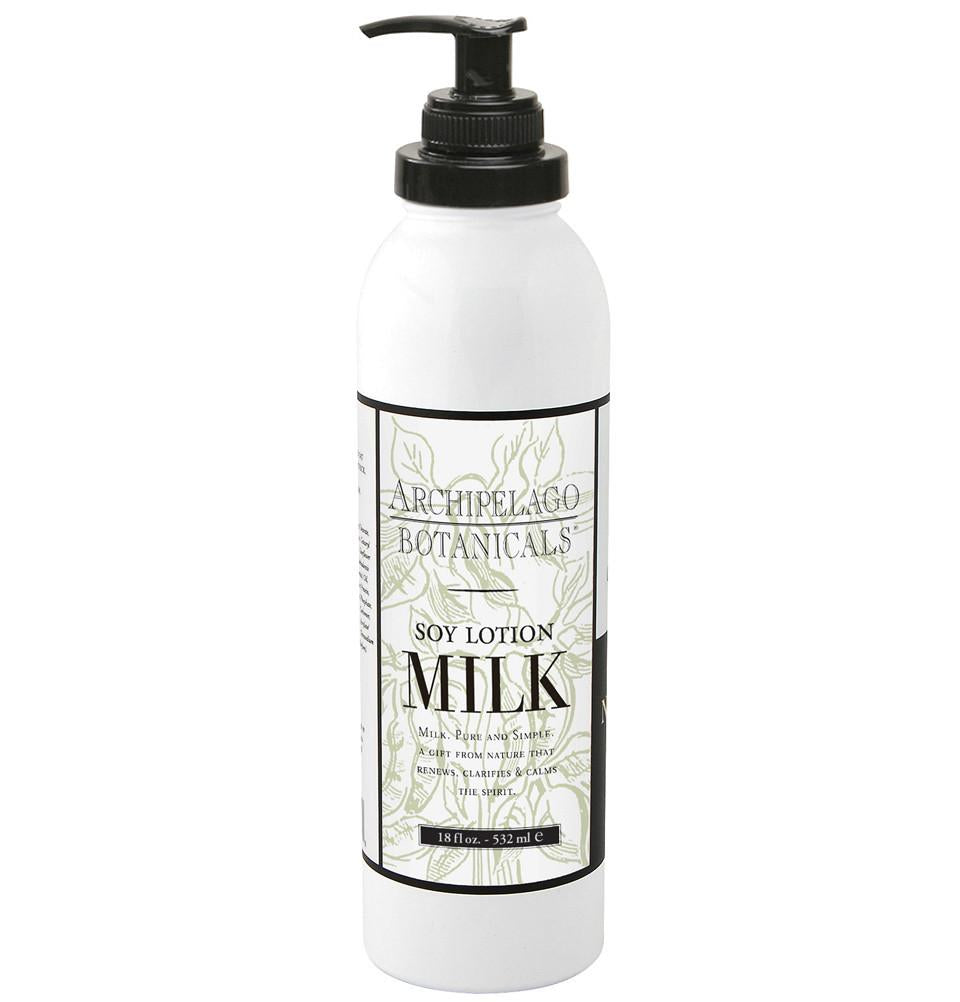 Soy Milk 18 oz. Body Lotion