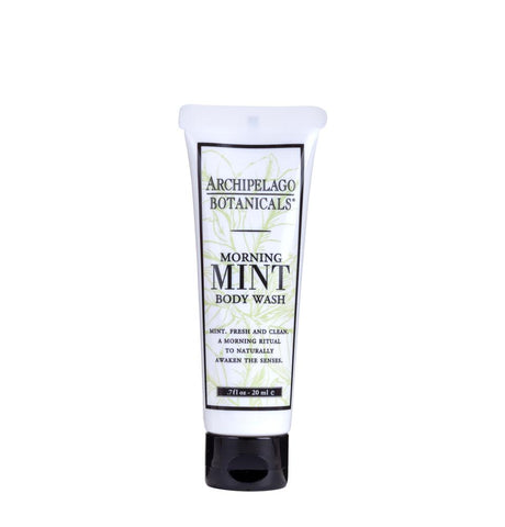 Morning Mint Travel Size Body Wash