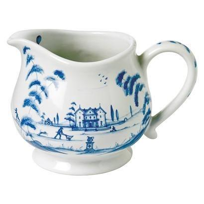 Country Estate - Delft Blue Creamer Main House