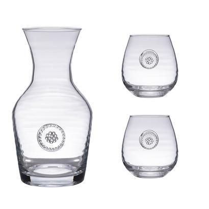 Berry & Thread  Carafe+2 Stemless Red Wine Gift Set