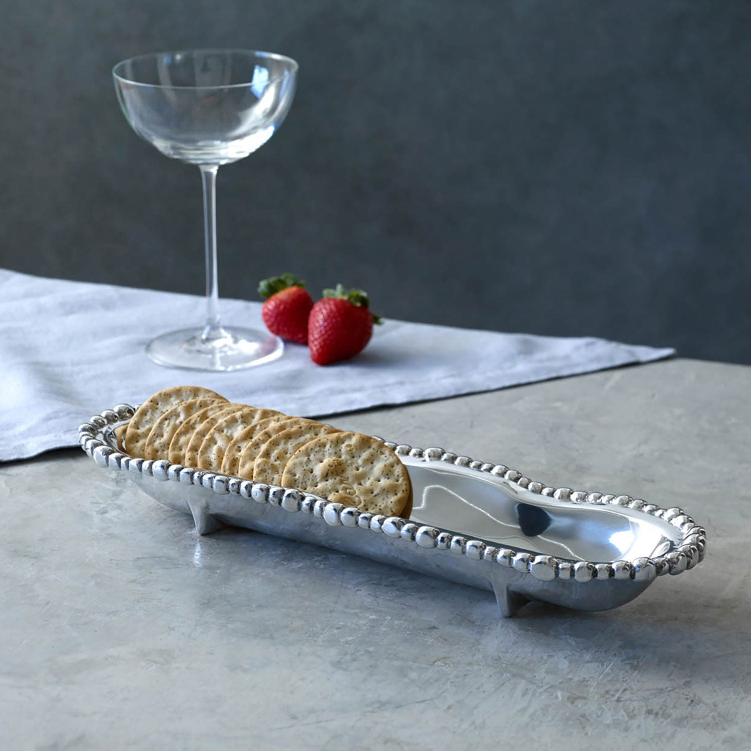 ORGANIC PEARL Cracker Tray