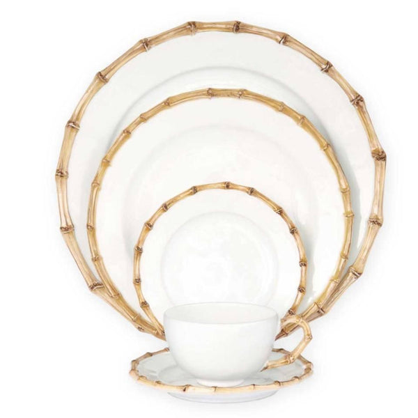 Classic Bamboo Natural 5pc Setting