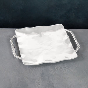 PEARL Square Tray with Perla Handles