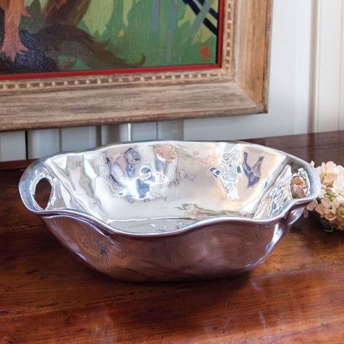 VENTO Rebecca Oval Bowl with Handles - Medium