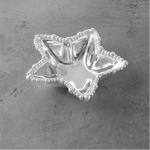 GIFTABLES Organic Pearl Star Bowl - Small