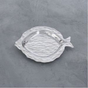 OCEAN Morocco Fish Small Round Platter