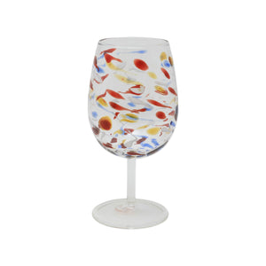 Carnevale Wine Glass