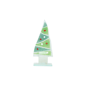 Glass Trees and Angels Zigzag Small Tree
