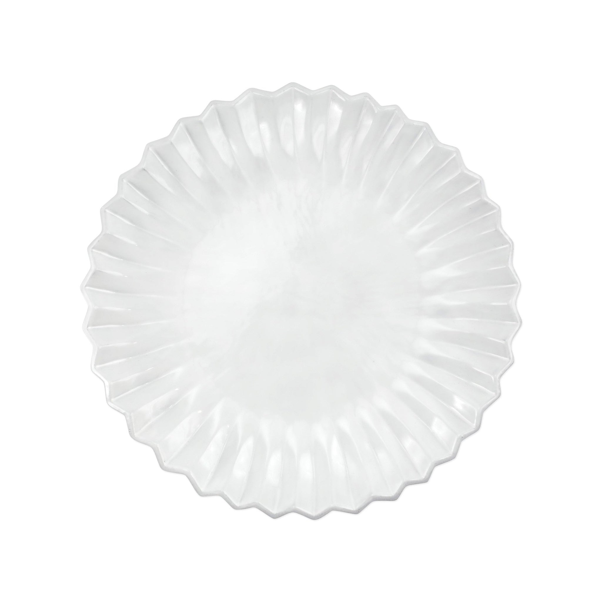 Incanto Pleated European Dinner Plate