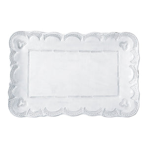 Incanto Lace Small Rectangular Platter